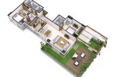 All Seasons Floor 3 375x250 - All Seasons - Damac Hills