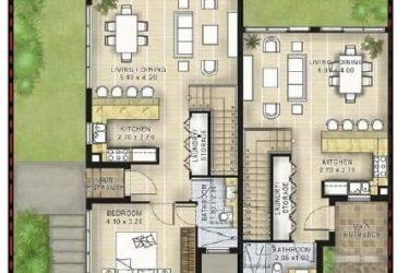 wood floor1 375x250 - Greenwoods Villas at Damac Hills