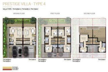 duo floor2 375x250 - Damac Hills 2 Duo Prestige Villas